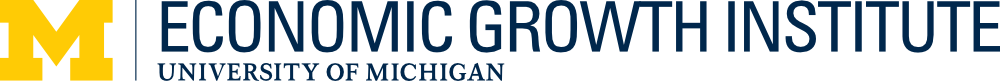 University of Michigan Economic Growth Institute Logo
