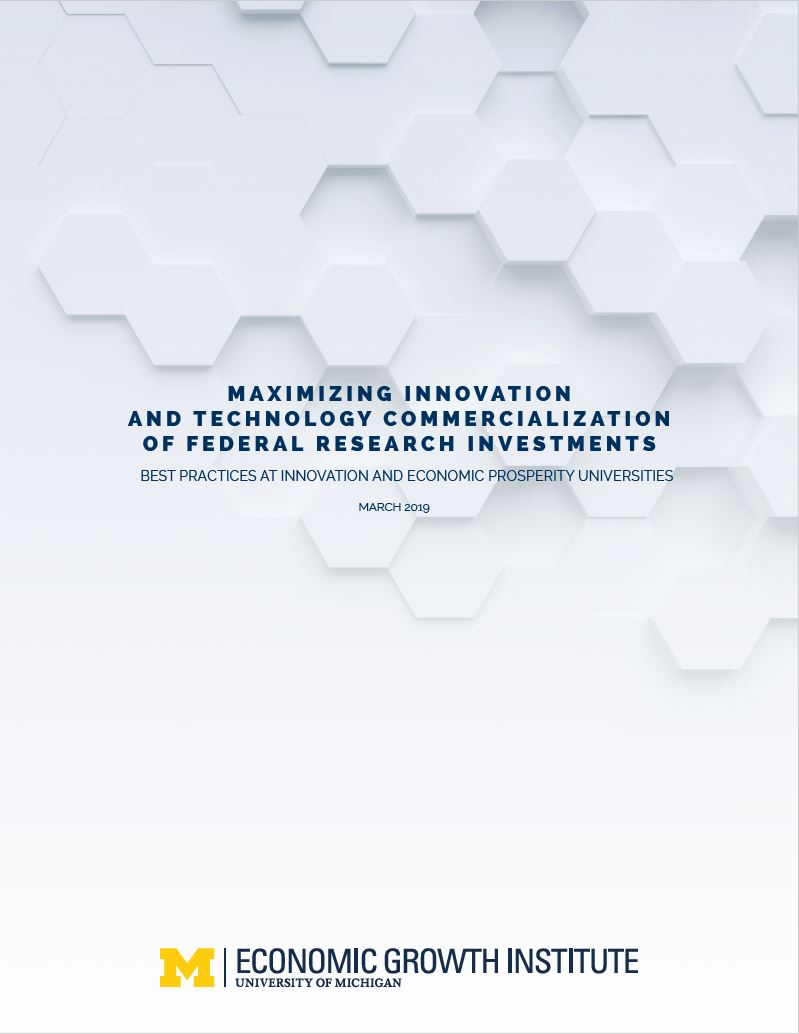 Cover image of the NIST Lab to Market Report
