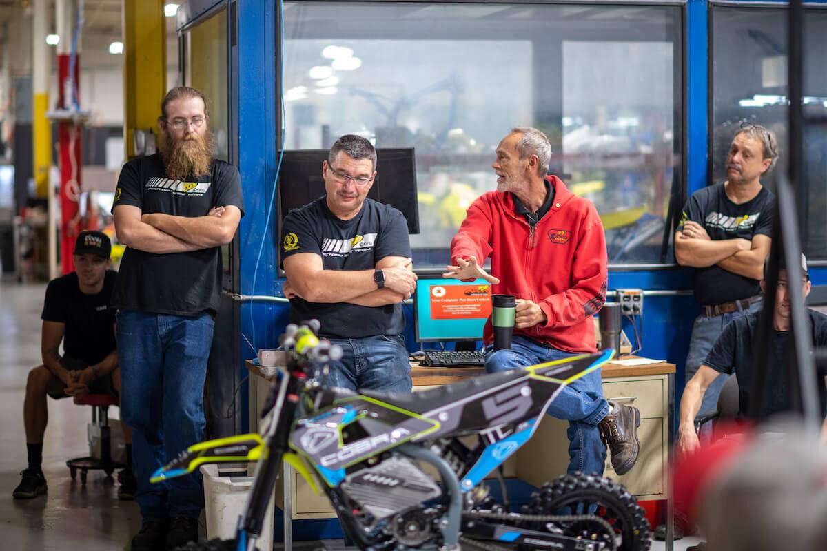 Team members at Aero Cobra