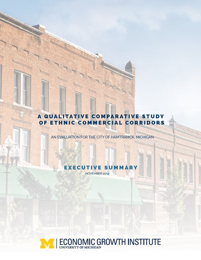 Cover of Hamtramck report