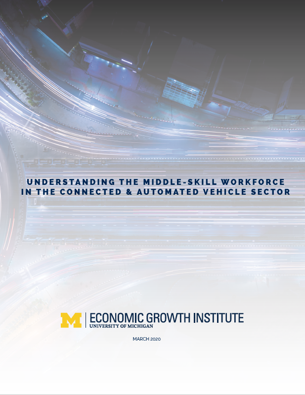 Cover image of Connected and Automated Vehicles Study