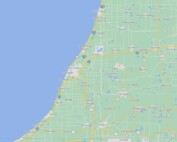 Map of southwest Michigan